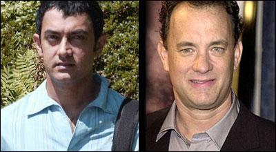 Aamir Khan and Tom Hanks