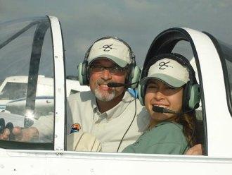 Jessica Cox - piloting