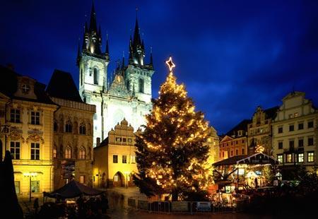 prague christmas tree