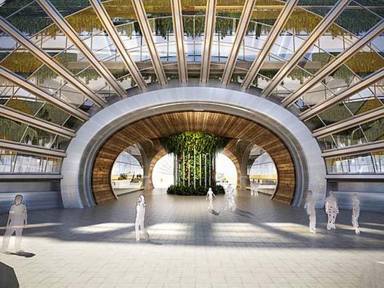 Ark hotel Inside view