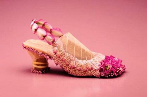 wedding flower sandal