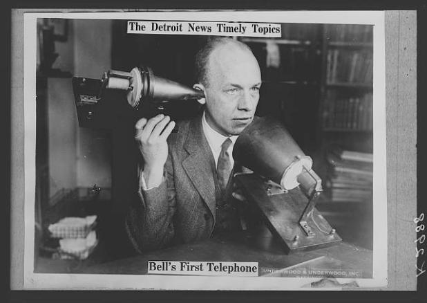 bells first telephone