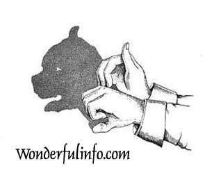Finger Art Dog