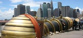 Telectroscope Connects New York and London