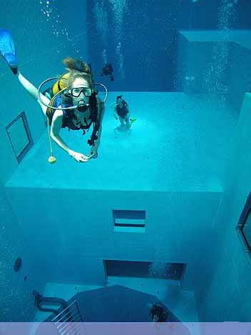 Nemo 33 - Deepest Swimming Pool of the world - 04
