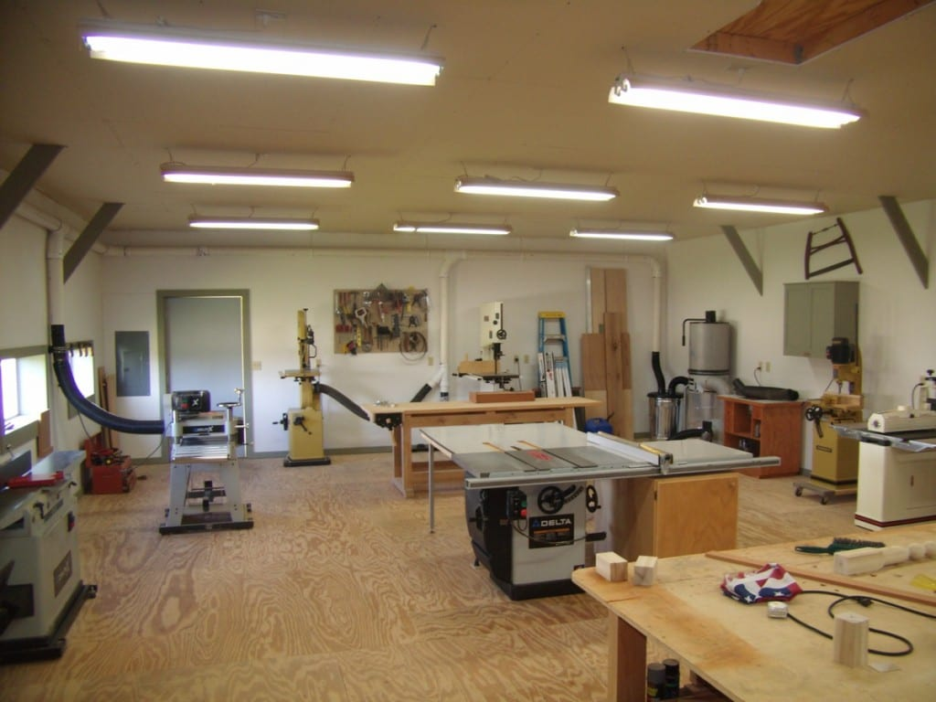 Building A Workshop Wonderful Woodworking