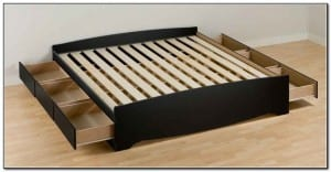 Building A King Size Bed With Storage
