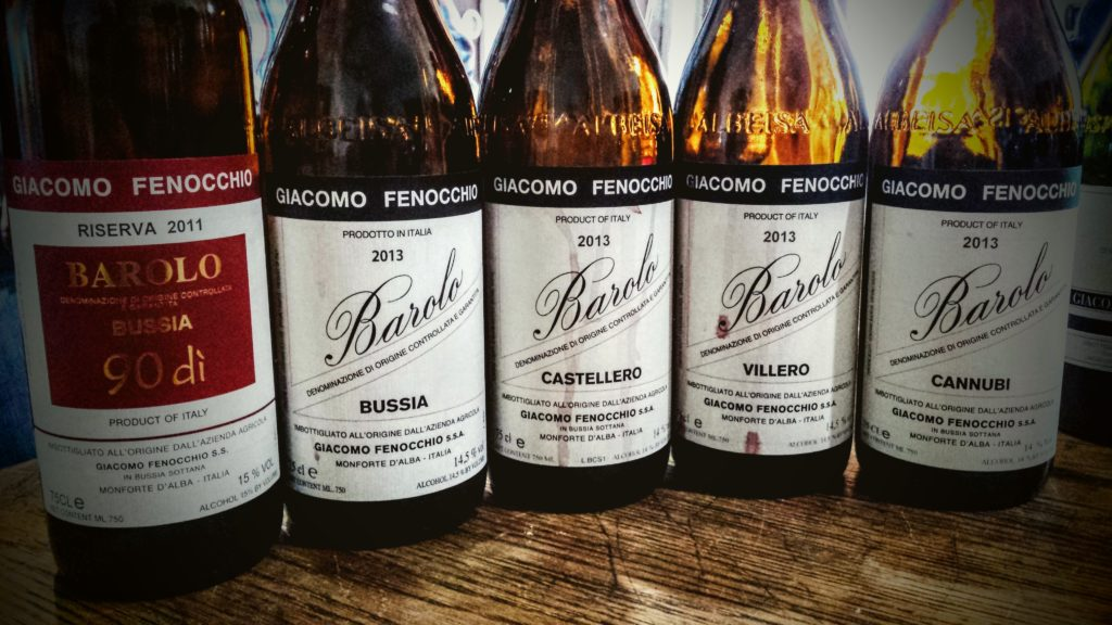 Vino Barolo Bussia Fenocchio
