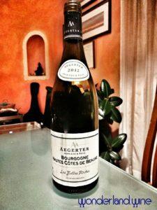 Bourgogne Hautes Côtes de Beaune 2014 Aegerter