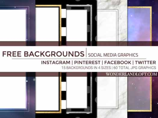 60 free social media background graphics