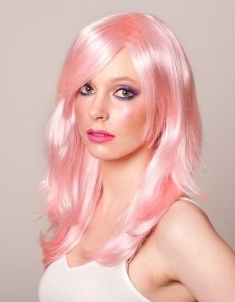 Long Pink Wig Beautiful Long Pink Wigs Buy Online UK
