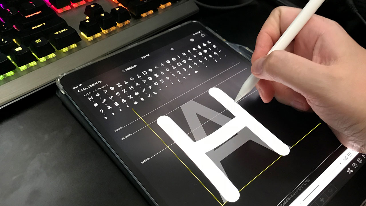 Create Your Own Font… or Secret Code