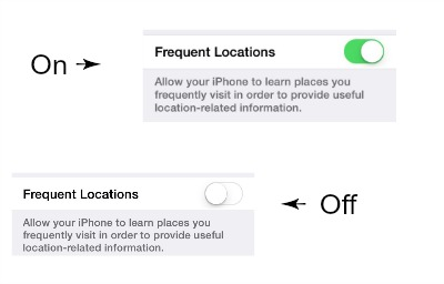iPhone Frequent Locations How to Opt Out