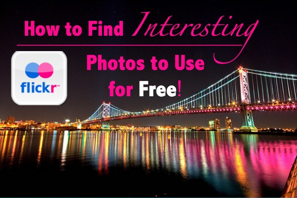 How to Search Flickr