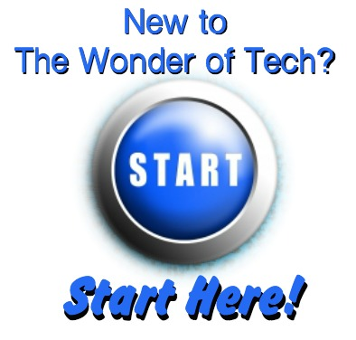 Start Here Wonder of Tech