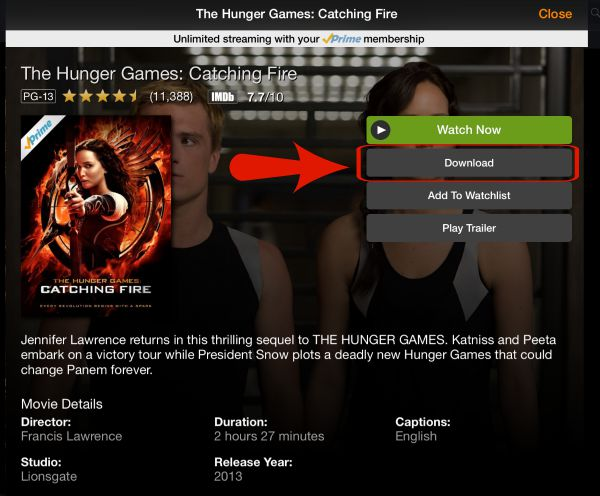 Amazon Prime Now Has Free Downloads for Movies and TV Shows!