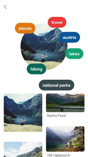 Pinterest Lens Travel App