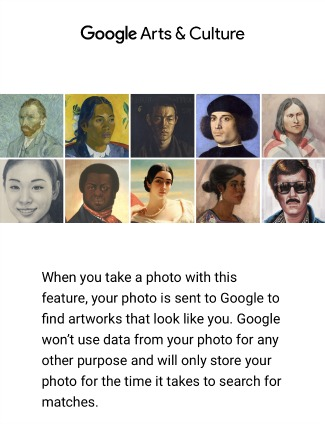 Google Arts & Culture Privacy Statement