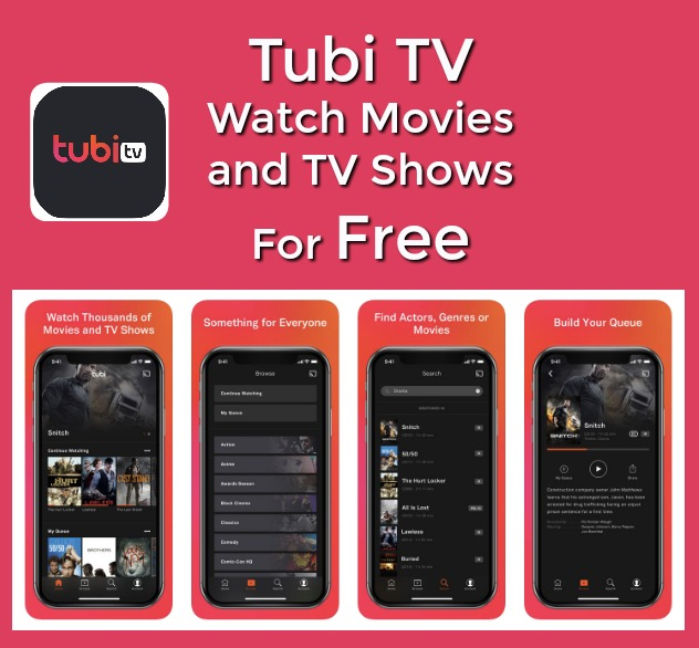 Tubi TV – Watch Movies and TV Shows for Free