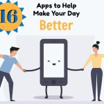 16 Apps to Help Make Your Day Better [Infographic]