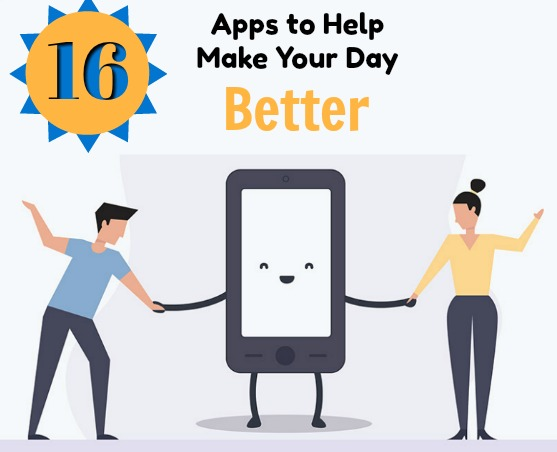Infographic Apps to Make Your Day Better