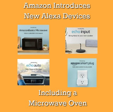 New Amazon Echo Devices with Alexa