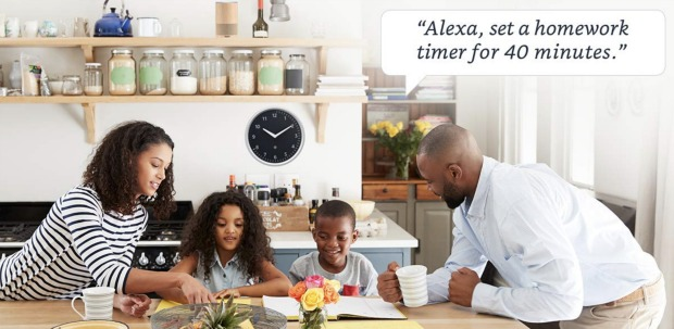 Amazon Echo Clock