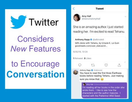 New Twitter Conversation Features