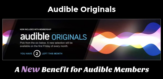 Audible Originals Benefit