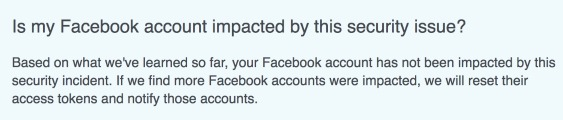 Facebook account not hacked so far.