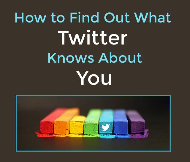 Twitter Personalization Options