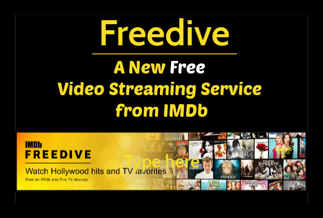 Freedive Video Streaming Service IMDb