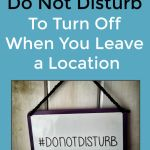 "How to Schedule ""Do Not Disturb"" To Turn Off When You Leave a Location"