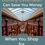 How Library Extension Can Save You Money When You Shop for Books Online