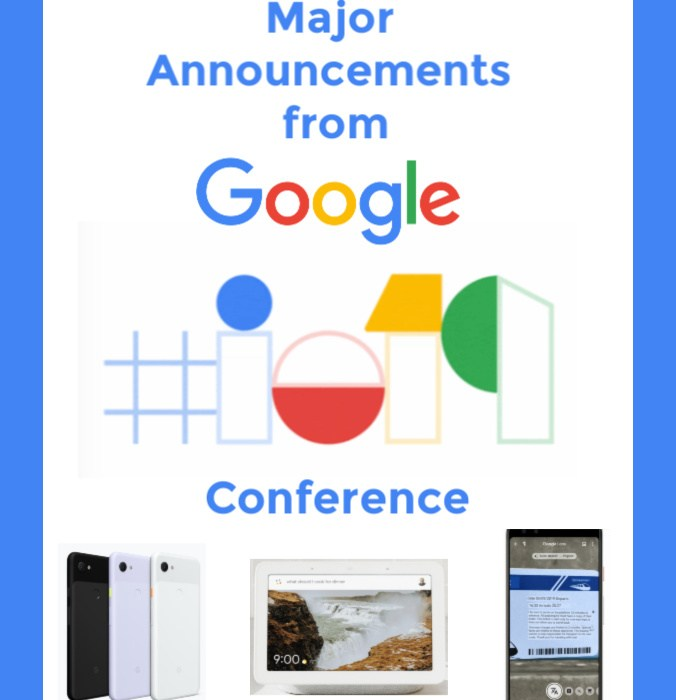 Google Announcements from i/O 2019