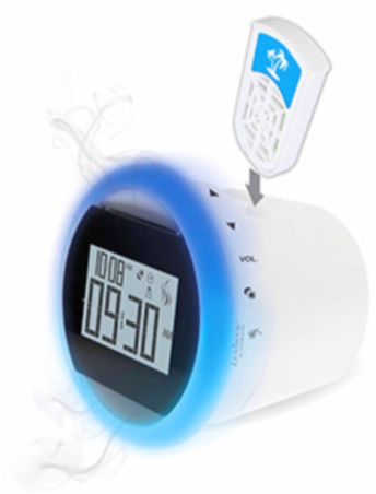 Scented Clock Radio