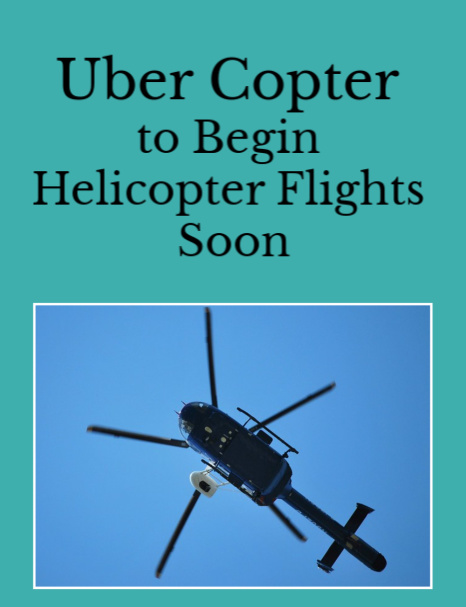 New York Uber Copter