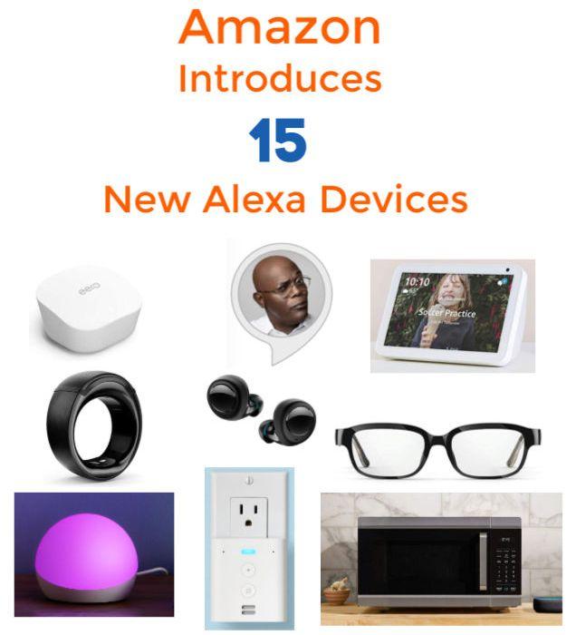 Amazon Alexa Devices 2019