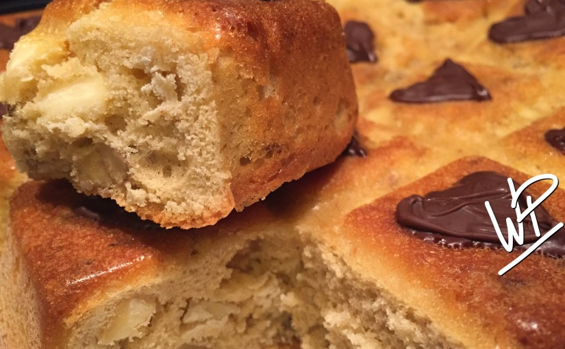 Blondie au chocolat blanc et noix avec ou sans Companion