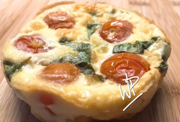 Recette minceur Clafoutis aux tomates cerises avec ou sans Companion ultra rapide