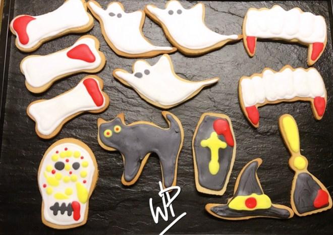 Sablés d'Halloween Wonderpétasse