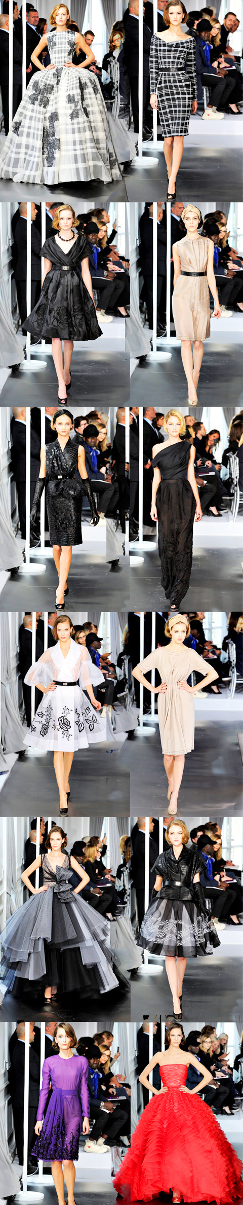Friday Fashion Break: Christian Dior Spring 2012 Couture