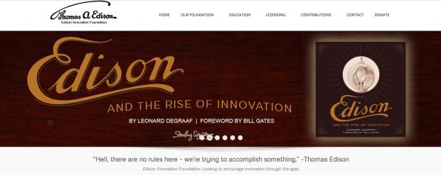 ThomasEdison.org Promotional Banner Images