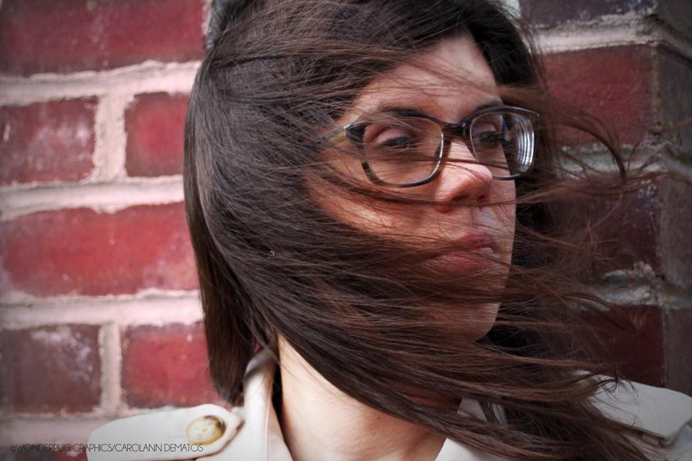 Portraits of Christina DeMatos [Sister-in-Law and Friend] | ©Carolann DeMatos/Wonderpug Graphics