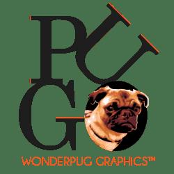 Wonderpug Graphics curated by Carolann DeMatos