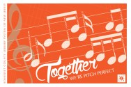 Together ... We're Pitch Perfect created by Carolann DeMatos of Wonderpug Graphics