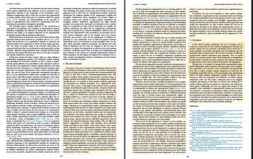 """""""The Power of the Arts in Business"""" by Daniela Carluccia and Giovanni Schiumab (Journal of Business Research"""