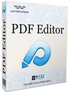 Wondershare PDF Editor new
