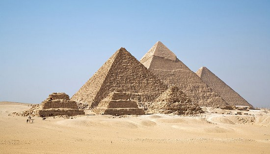 Giza Pyramid Famous Cultural Monuments