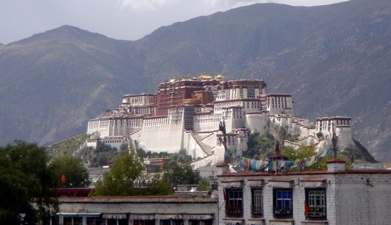 The Potala Palace from the south-east